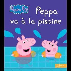 Peppa va à la piscine