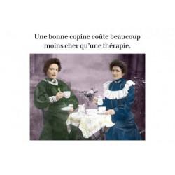 Carte Rétro Fun Une bonne...