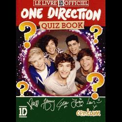 One Direction quiz book