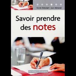 Savoir prendre des notes