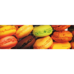 Carte marque-page Macarons