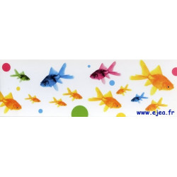 Carte marque-page Poissons