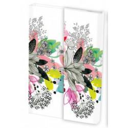 Carnet Blooming A6 Blanc