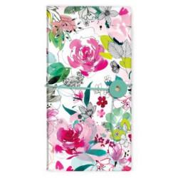 Carnet slim Blooming Roses