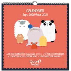 Calendrier 2020/2021 Kawai