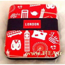 Boite métal Union Jack London