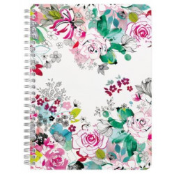 Carnet A5 Blooming Roses