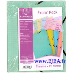 Exam Pack Chemise A5 et...