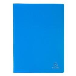 Porte-vues 200 vues Opak bleu