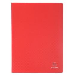 Porte-vues 200 vues Opak rouge