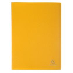 Porte-vues 200 vues Opak jaune