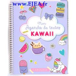 Mon agenda de textes Kawaii