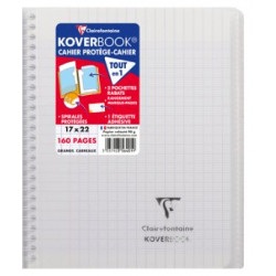 Cahier Koverbook incolore...
