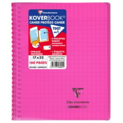 Cahier Koverbook rose...