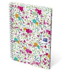 Cahier Oxford Floral B5 5x5...