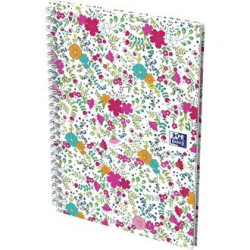 Cahier Oxford Floral A5 5x5...