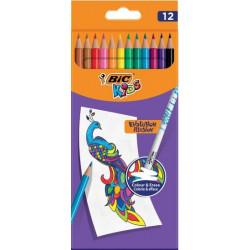 Bic Kids 12 crayons de...