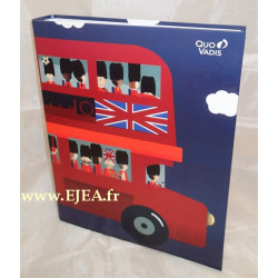 Classeur Union Jack London Bus