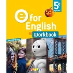 Workbook E for English 5e