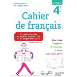 Cahier de Francais 4e Hachette