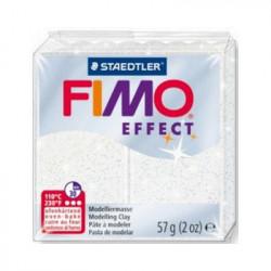 Fimo Effect glitter Blanc 052