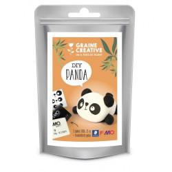 DIY Panda Fimo Graine Créative