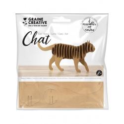 Maquette Chat en carton à...