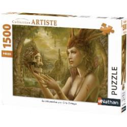 Puzzle 1500 pièces La Cité...