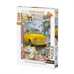 Puzzle 1500 pièces Sur la...