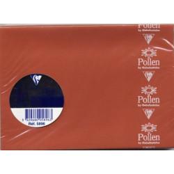Pollen 20 enveloppes C6 OCRE