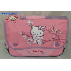 Cartable Hello Kitty rose