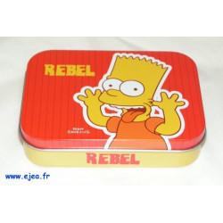 Boite métal Bart Simpson