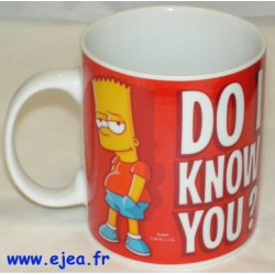 Bart Simpson Mug Do i know...