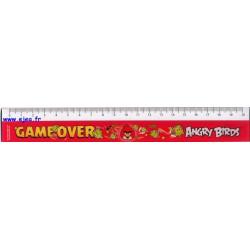 Angry Birds règle plate