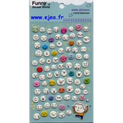 Funny Sticker World Smile