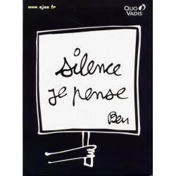Ben Silence je pense Carnet 21