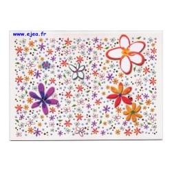 Carte postale Hanra Fleurs...