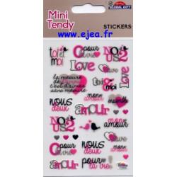 Stickers Mini Tendy Love