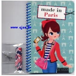 Carnet Made in Paris Mes...