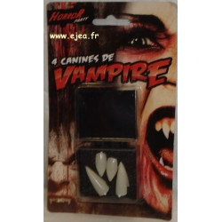 Dents de vampire Horror Party