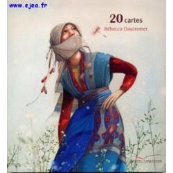 Set 20 Cartes Rébecca...