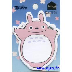 Bloc Mémo Totoro rose