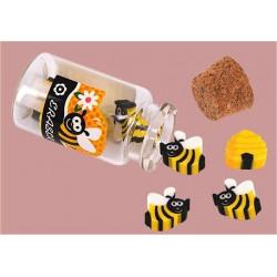 Mini gommes abeilles