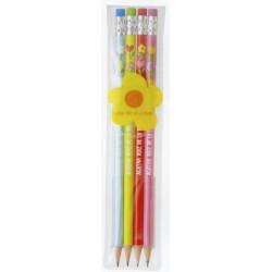 Pochette 4 crayons à papier...