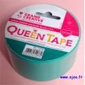 Queen Tape Turquoise uni