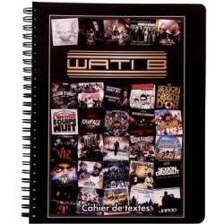 Cahier de textes Wati B Albums