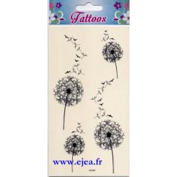 Tattoos Pissenlits et oiseaux
