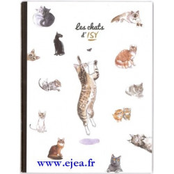 Cahier Les Chats d'Isy