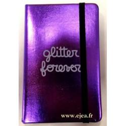 Carnet Glitter Forever A6...