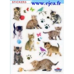 Stickers Mini Classy Chatons